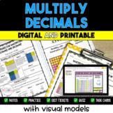Multiplying Decimals Resource Bundle {Digital & Printable}