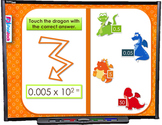 Multiplying Decimals SMART BOARD Game (CSS 5.NBT.B.7)