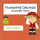 Multiplying Decimals - Scavenger Hunt