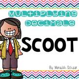 Multiplying Decimals Scoot