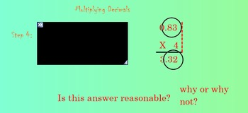 Multiplying Decimals Smart notebook file