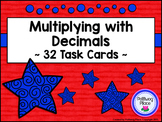 Decimals: Multiplying Decimals Task Cards