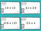 Multiplying Decimals Task Cards Scavenger Hunt
