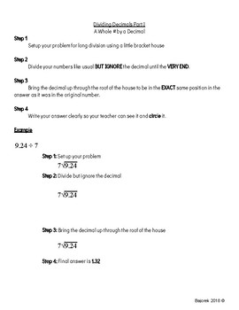 Multiplying Decimals Task Sheet