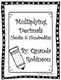 Multiplying Decimals (Tenths & Hundredths)