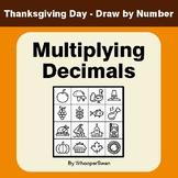 Thanksgiving Math: Multiplying Decimals - Math & Art - Dra