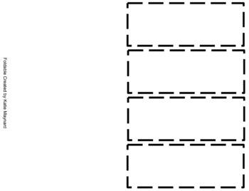 Multiplying Decimals Word Problem Foldable