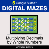Multiplying Decimals by Whole Numbers | Digital Mazes Dist