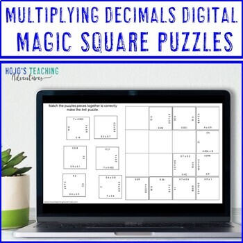 Multiplying Decimals Activity   Multiplying Decimals Game, Practice, or Review