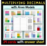Multiplying Decimals using Models