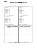Multiplying Decimals with Models (Quiz)