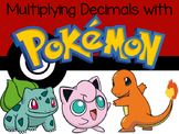 Multiplying Decimals with Pokemon (TEKS & CCSS Aligned)