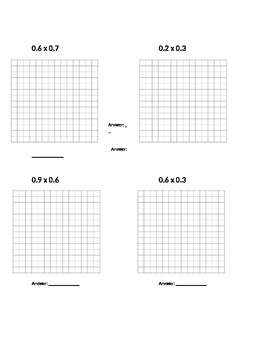 Multiplying Decimals with a Grid