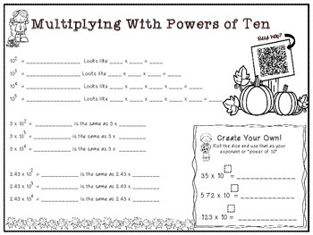Multiplying & Dividing By Powers Of Ten