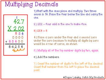 Multiplying & Dividing Decimals (Power Point)
