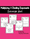 Multiplying & Dividing Exponents