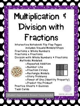 Multiplying & Dividing Fractions
