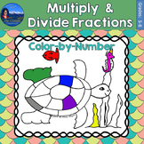 Multiplying and Dividing Fractions | Under the Sea Math Co