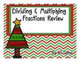 Multiplying & Dividing Fractions Review Task Cards