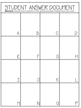 "Multiplying + Dividing Fractions ""Trail"" Activity"