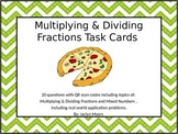 Multiplying & Dividing Fractions and Mixed Numbers Task Ca