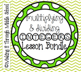 Multiplying & Dividing Integers Lesson