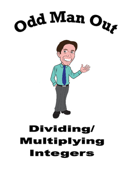 Multiplying & Dividing Integers - Odd Man Out