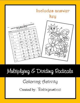 Multiplying & Dividing Radicals