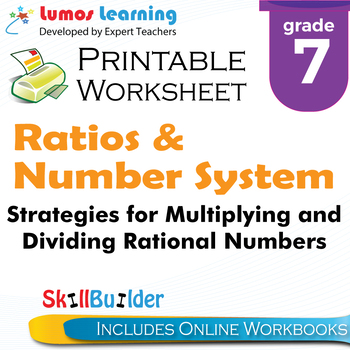 Strategies for Multiplying&Dividing Rational Numbers Printable ...