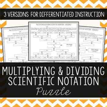 Multiplying & Dividing Scientific Notation