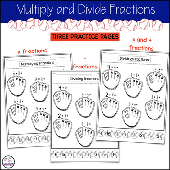 Multiplying & Dividing Whole Numbers and Fractions