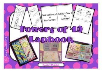 Multiplying & Dividing by Powers of 10 Lapbook