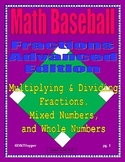 Multiplying & Dividing of Fractions Baseball Game