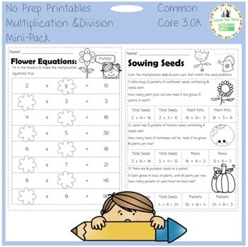 Multiplying & Dividing with the 0-10 Times Tables - Common