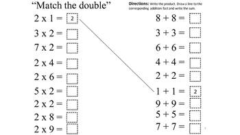 Multiplying Doubles