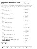 Multiplying Exponents and Negative Exponent Riddle/ Joke Worksheet