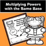 Multiplying Exponents with like Bases
