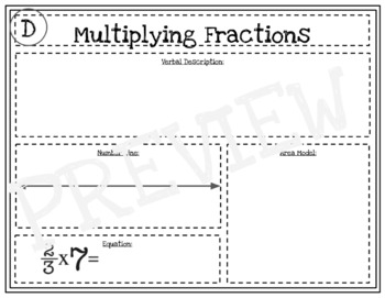 Multiplying Fraction Activity