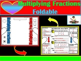 Multiplying Fraction Foldable Graphic Organizer