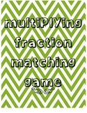 Multiplying Fraction Models