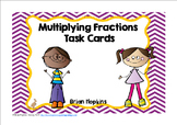 Multiplying Fraction Task Cards