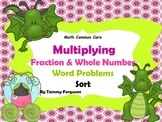 Multiplying Fraction & Whole Number Multi-Step Word Proble