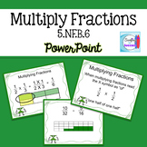 Multiplying Fractions PowerPoint and Foldables