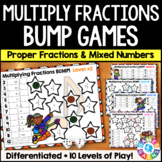 Multiplying Fractions & Multiplying Mixed Numbers Games {4.NF.4, 5.NF.4}