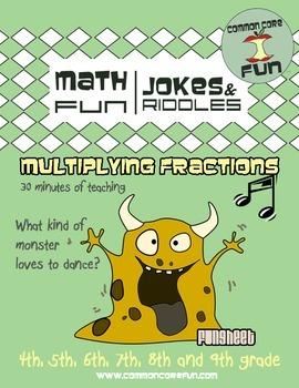 Multiplying Fractions - Halloween Ready!