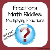 Multiplying Fractions Math Riddles