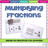 Multiplying Fractions Activities