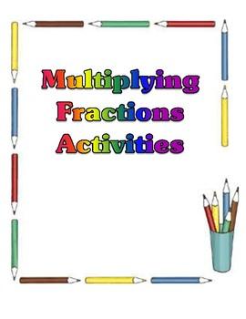 Multiplying Fractions - Activities