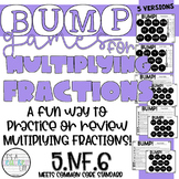 Multiplying Fractions BUMP Games   5.NF.4, 5.NF.6