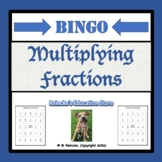 Multiplying Fractions Bingo (30 pre-made cards!!!)